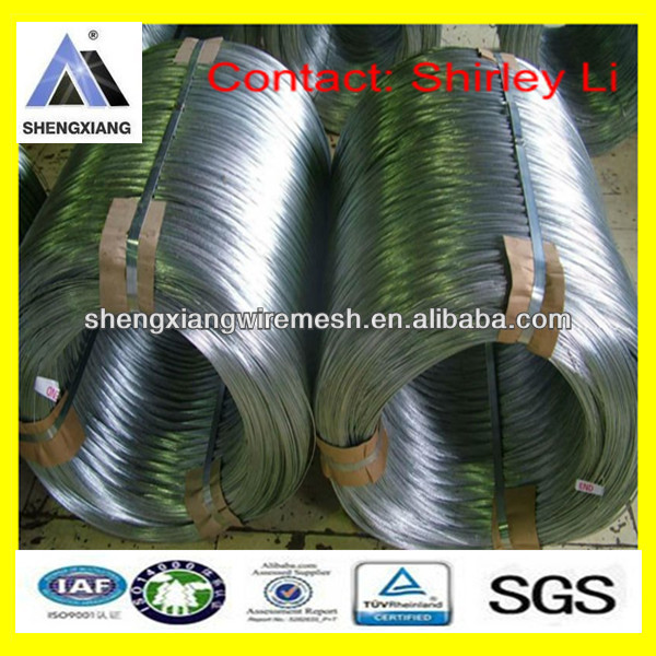 Lowest price 2.5mm,3.0mm,4.0mm,4.5mm Hot-dipped galvanized wire Electro galvanized wire(direcely professional factory)