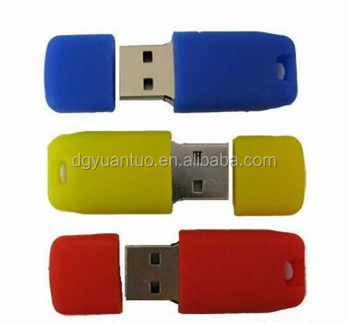 PVC rubber duck 8GB USB flash drives for wholesale