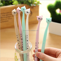 cute cartoon cat gel pen kawaii stationery pens canetas material escolar office school supplies papelaria