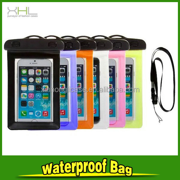 Best things to sell Universal lanyard all covered phone waterproof case