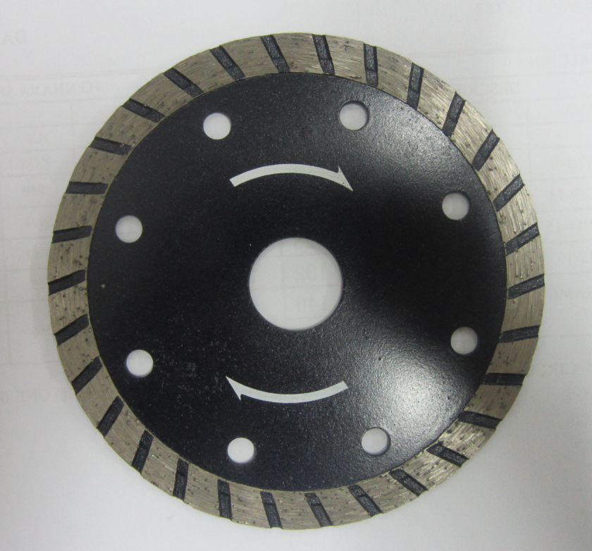 Hot/Cold Press Ultra Thin Oblique Tooth Cutting Diamond Saw Blade