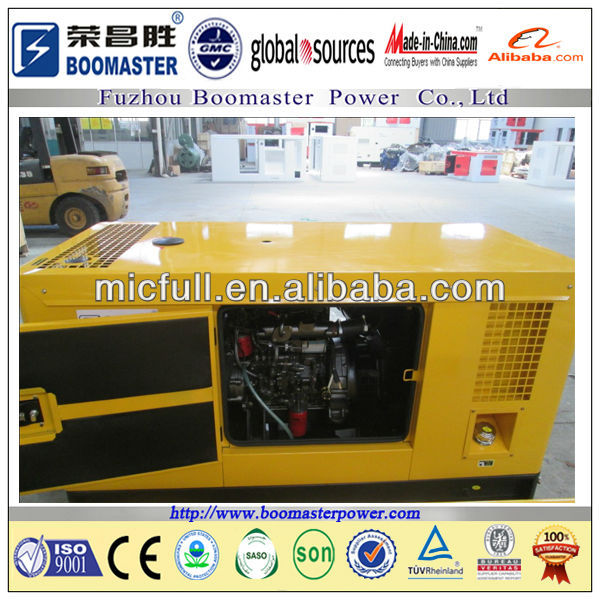 diesel generator with or without sound proof canopy