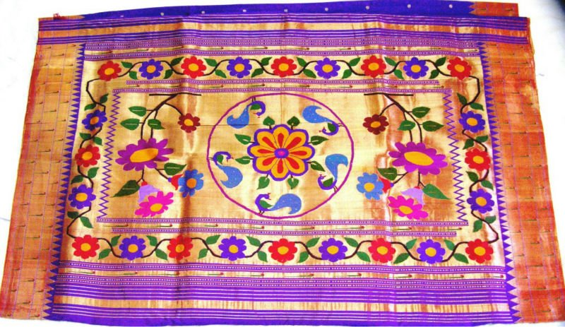 Muniya brocket 1 paithani sarees
