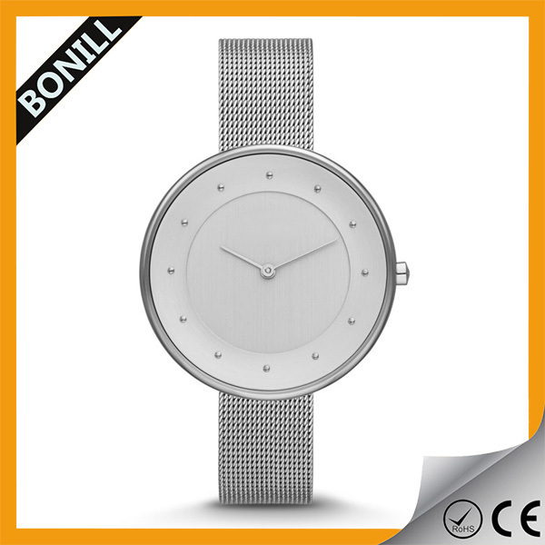 New Style Blank Dial Flashing Cheap Watches for Girls