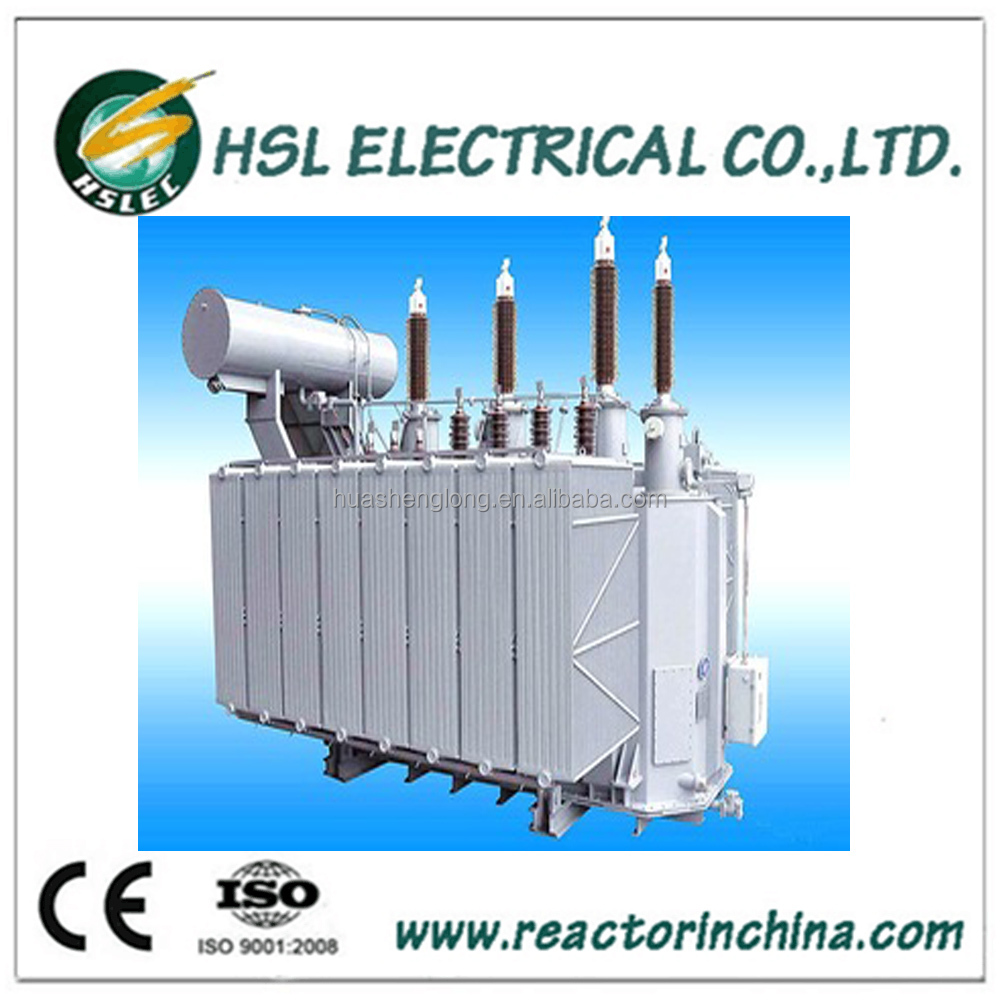 oil immersed electrical power supply rectifier transformer