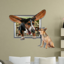 PAG originality animal 3D Wall Sticker removablewall decor,stair wall sticker,Vinyl wall sticker