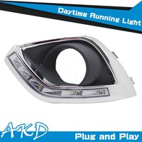 AKD Car Styling Opel Antara DRL Antara LED DRLAntara LED Daytime Running Light Good Quality LED Fog lamp