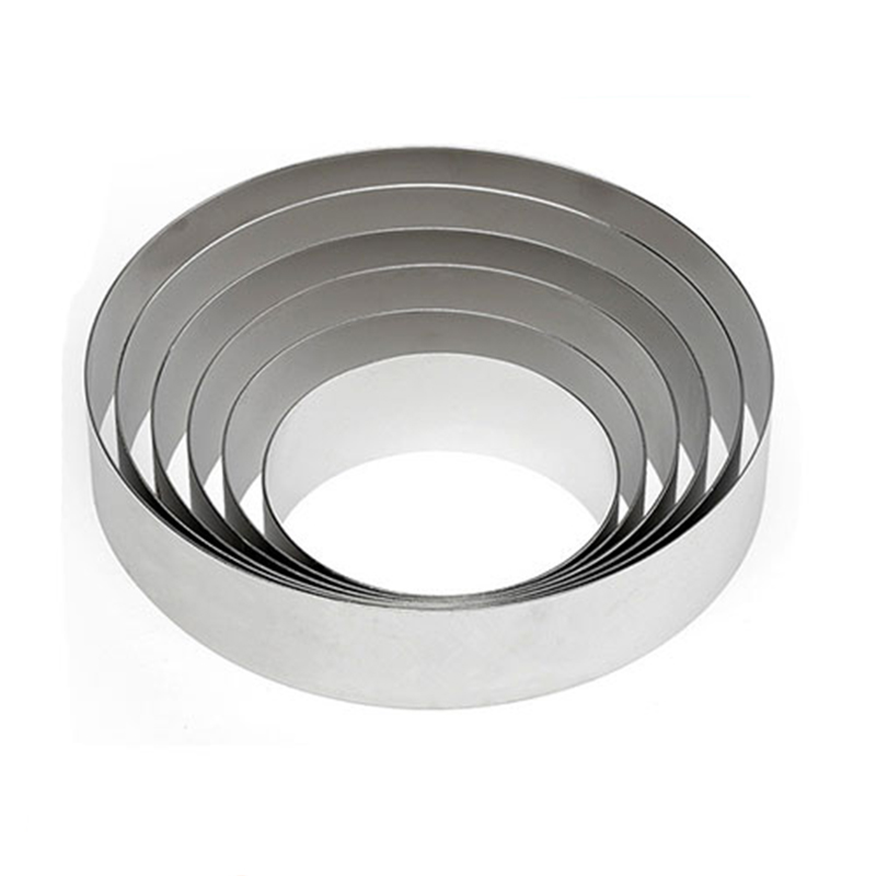 Shenzhen Factory Supply High quality stainless steel round cake Mousse ring