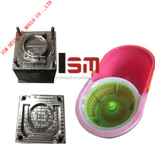 2015 Most Popular And Professional Mop Bucket Plastic Parts Injection Moulding