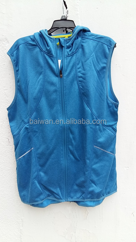 High quality men&lady's vest liquidation stock for sale