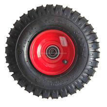 3.00-4 Off-Road inflatable rubber wheel for hand trolley