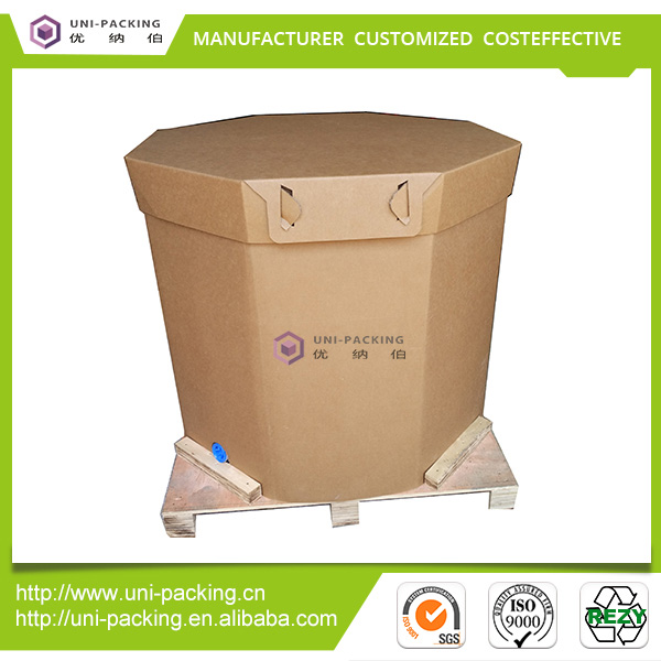 Flexible Food-grade Intermediate Bulk Container Paper IBC for Edible oil,<strong>Wine</strong>,Soy sauce