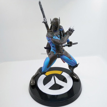 High details quality 3d custom pvc figure 1/6 overwatch figure for display