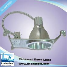 8 inch commercial economic halogen incandescent recessed down light china supplier