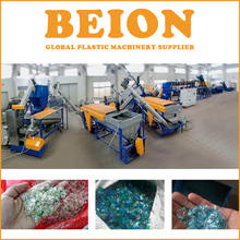 BEION Engineers available PET bottle washing line waste plastic recycle machine