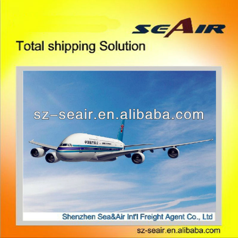 Best air shipping rates from China/shenzhen to USA
