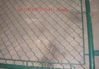 AU standard heavy galvanised weave cyclone wire fencing