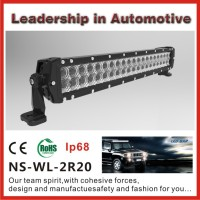 High lumen 20inch off road cree led light bar led light bar, New design dot approved led light bar