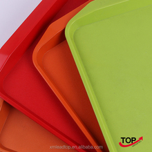 hot sale stackable plastic serving tray for restaurant only