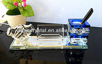 Desk Top Decoration Crystal High End Business Gifts