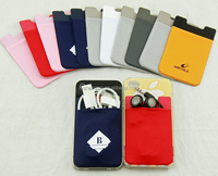Promotional 3M Fabric Cell Phone Card Holder Smart Wallet