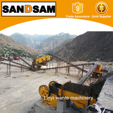Sand prodction line and mining crusher,stone jaw crusher PE500*750
