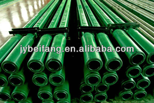 blast furnace tapping drill rod