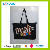 fashion promotional handbag tote M&M shopping bag