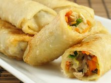 Halal Chicken Spring Roll