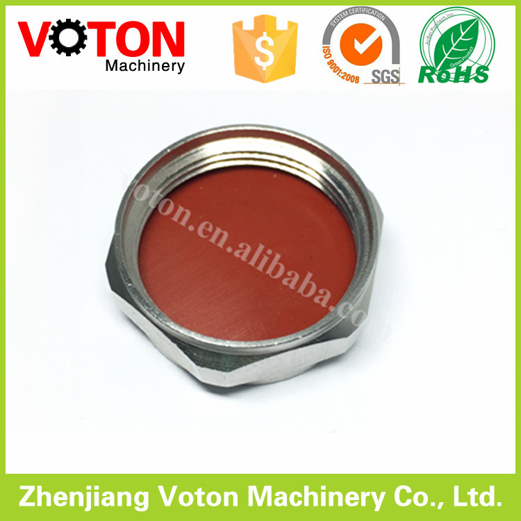 Metal dust cap 7/16 Din type contains sealing washer without chain