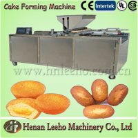 cake production line with semi automatic madeleine cake baking machine