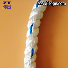 price of mooring rope 20mm 3 strand nylon Twisted rope for marine rope