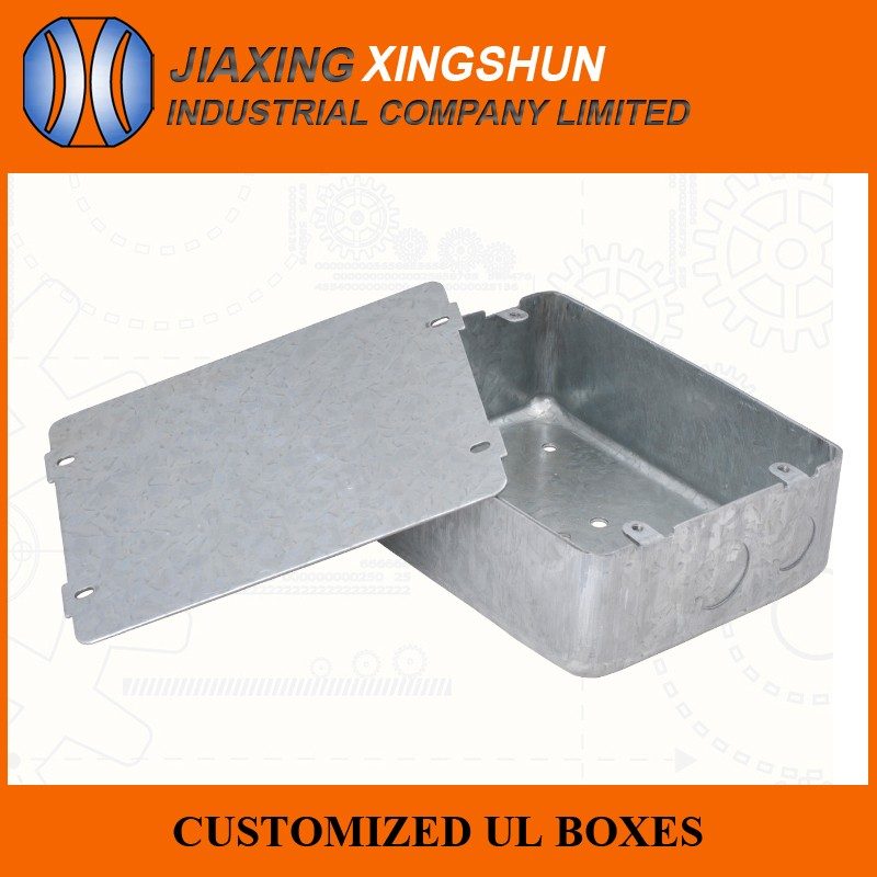 wall mounting electric galvanized steel conduit box