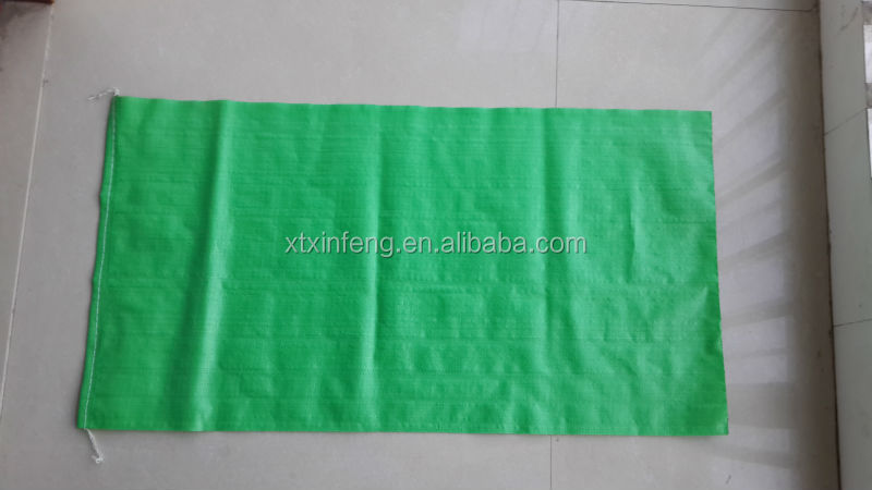 transparent pp woven bag 50kg pp bag for grain made in china