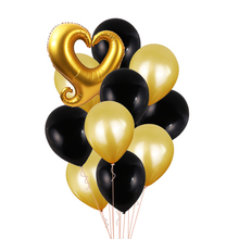 13pcs <strong>12</strong> inch Latex Balloons Set Heart Kiss Lip Foil Balloon Birthday Party Balloons Valentine's Day Wedding Party Supplies