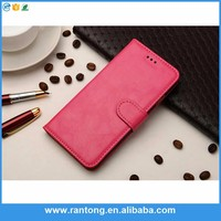 Hot selling OEM design wallet leather case for zte in many style