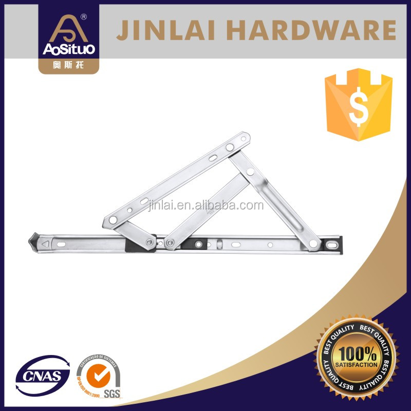 Aluminum window top hung friction stay