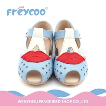 Sell well pleasantly cool funny baby girl walking shoes