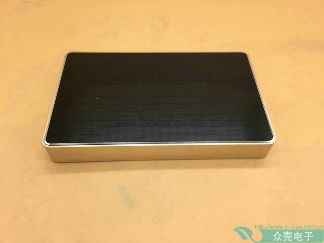ZK-114-3/206.5*125.5*40mm Aluminum Router Shell/ Player Shell/Controller Shell