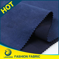 2016 New arrival Garment fabric material use Wholesale suede sofa fabric textile