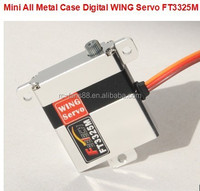 Mini All Metal Case Digital WING rc Servo motor FT3325M for rc airplane