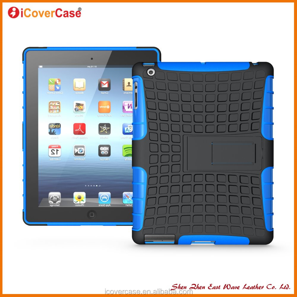 Tpu pc Più venduti del telefono Shockproof heavy duty case Per iPad Mini 3