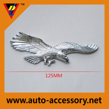 Personalized chrome automotive UAE eagle symbol plastic car emblem