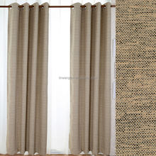 100% polyester line fabric for curtains for home and hotel