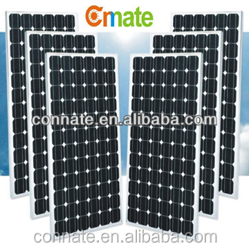 Cheap solar panel factory 100W 150W 200W 250W 300W monocrystalline solar panel price