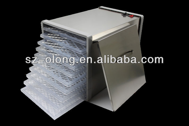 2017 latest stainless steel commercial dryer food used
