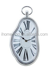 home decor plastic Antique clock dali melting wall clock(IH-3963)