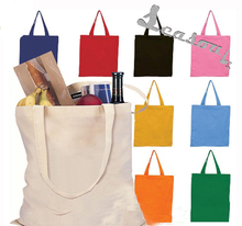 White Promotional Eco-friendly Canvas Shopping Bag Cotton Canvas Bag