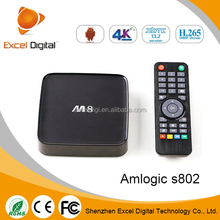 2015 hot selling unique android 4.3 tv box for worldwide support xbmc