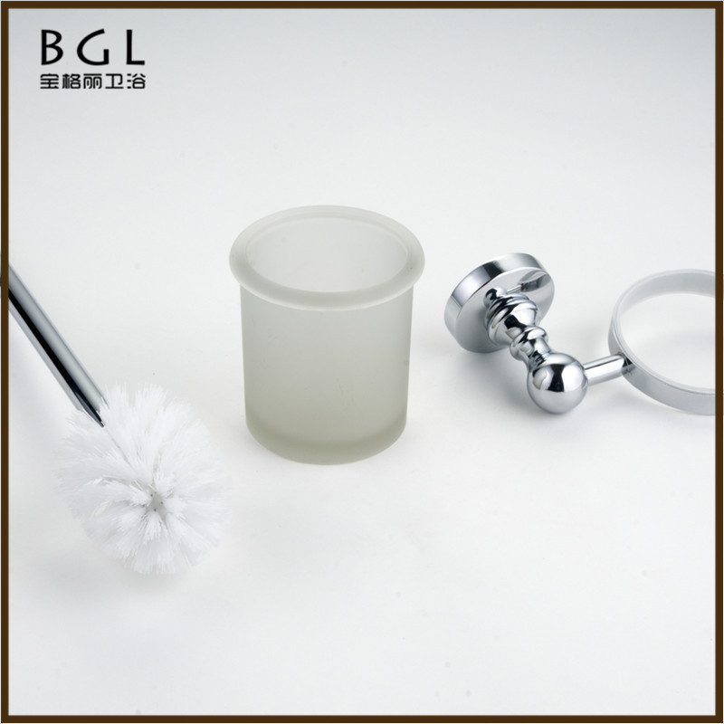 20050 hot chinese product wholesale modern design bathroom accessories set rubber paint finish zinc alloy toilet brush